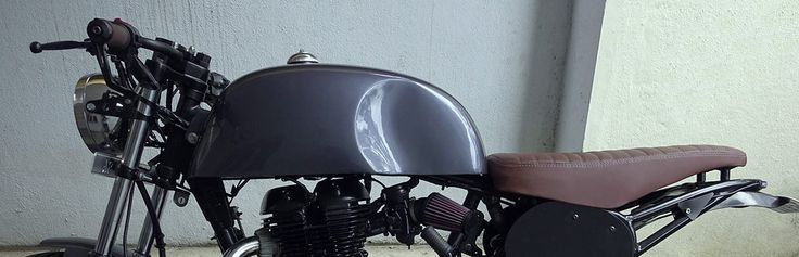 Royal Enfield Thunderbird cafe racer by Gear Gear Motorcycles | 350CC.com