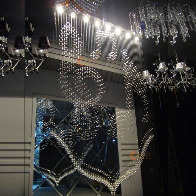 gk lighting llc. bead curtain lighting music crystal partition entranceway curtains lamps style-inceiling lights gk llc