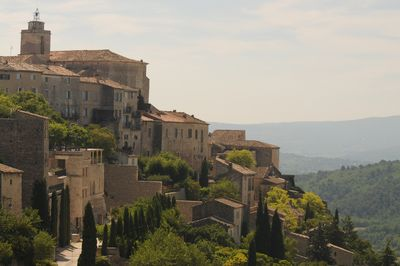 The perched village of Gordes