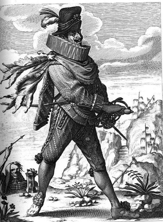 Le Soldat fanfaron (Miles gloriosus en latin) est la plus longue comédie de Plaute. Adaptée d'une pièce grecque, la comédie de Plaute met en scène un soldat vaniteux prompt à s'attribuer des exploits guerriers imaginaires, qui a donné naissance à un type de personnage récurrent dans le théâtre comique aux époques suivantes.