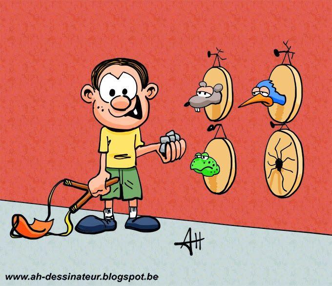 AH dessinateur: Thierry la Fronde