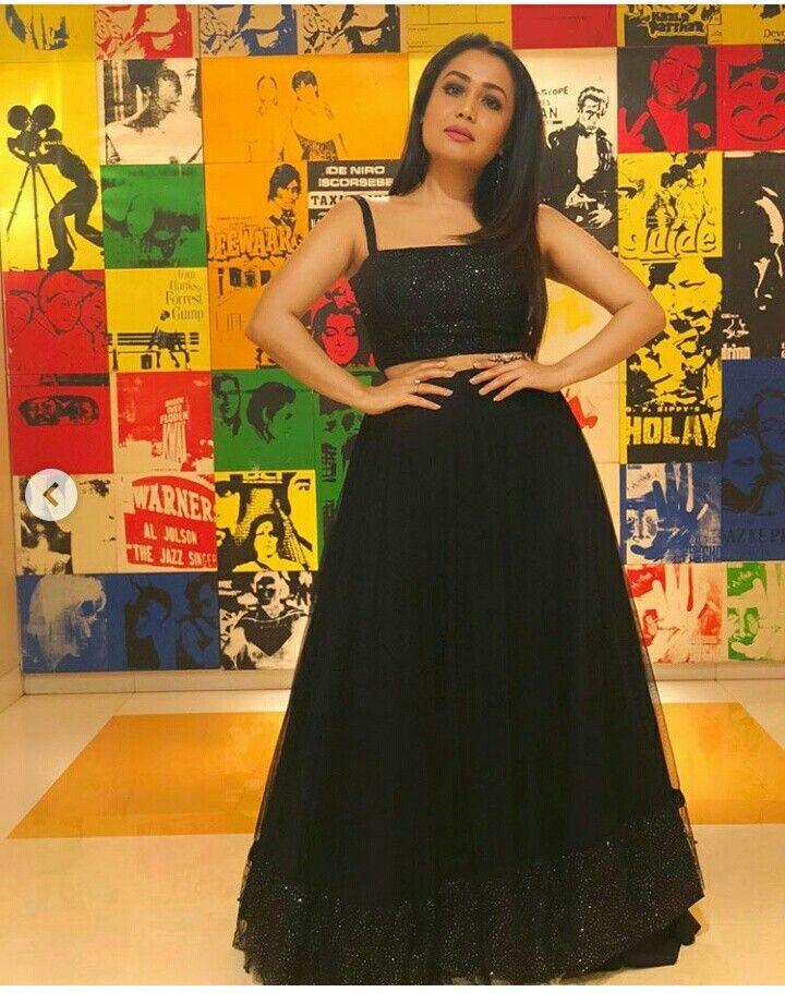 Pin By Angelkomu Komal On Neha Kakkar Neha Kakkar Dresses Stylish Dresses For Girls Bollywood Outfits