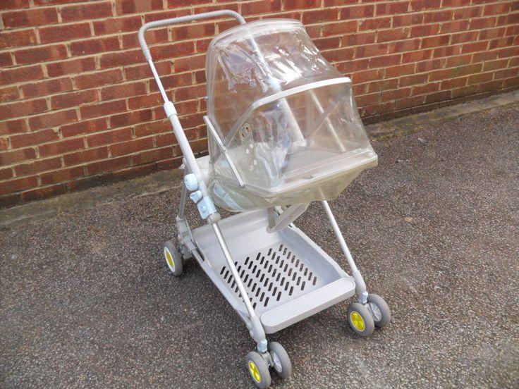 Mothercare Baby Stroller Pushchair Buggy Pram - Vintage Grey Baby Blue - Month | eBay