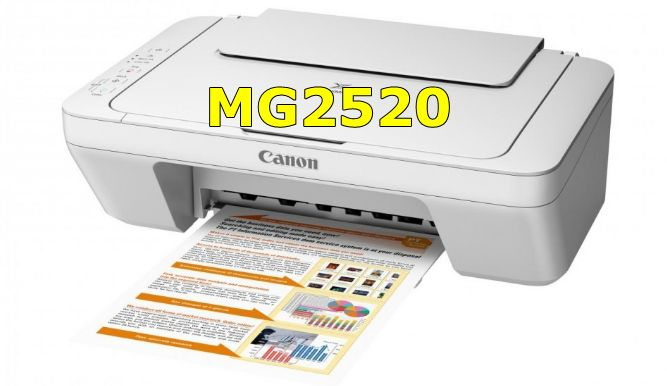 Canon PIXMA MG2520 Driver Download, Review, Ink, Setup