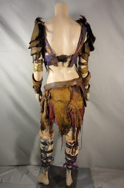 Spartacus Saxa Ellen Hollman Screen Worn Rebel Ensemble EP 310 COA Finalone   eBay