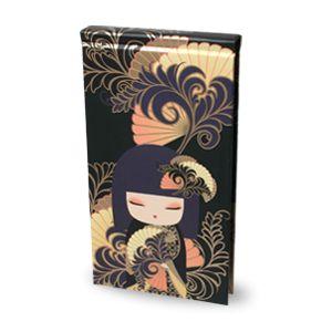 Cuaderno vertical con boligrafo Chikako Kimmidoll