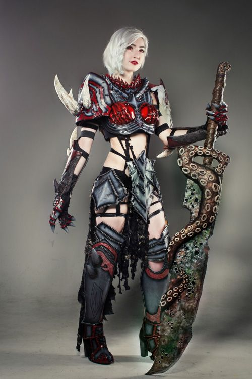 Warrior from Guild Wars 2 Cosplay