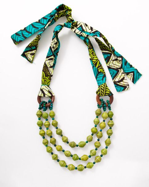 Said by the pinner : Love the colors and the print. For a great cause #UAPOAkolaProject #uganda