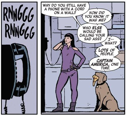 No, it's really funny. | Community Post: 24 Reasons Why You Should Be Reading Matt Fraction's Hawkeye