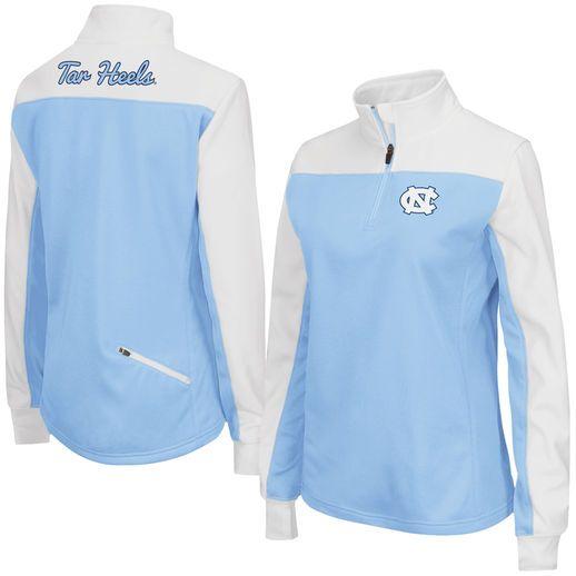 North Carolina Tar Heels Women's Carolina Blue Joust 1/4 Zip Jacket #tarheels #unc #northcarolina