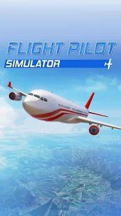 Flight Pilot Simulator Grátis– miniatura da captura de ecrã
