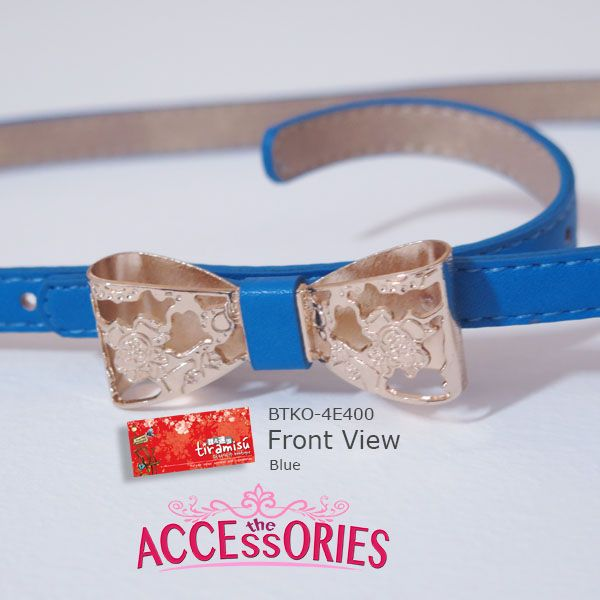 Lovely Ribbon Belt (BTKO-4E400)  Colour (Quantity):-  Cream (1); Pink (1); Blue (4) Sale 4 U now $8 - only payment through Bank Transfer (With FREE SingPost AM Mail within Singapore). More info at http://theaccessories.co/product/btko-4e400     Like us at http://www.facebook.com/tiramisuboutiquesg #women #belt #pink #korea #blue #free size #cream #new #girl #ladies #office #elegant #clean #lovely #decent #pu leather #gold #ribbon