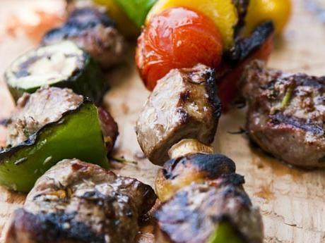 Grillspett med lamm Receptbild - Allt om Mat