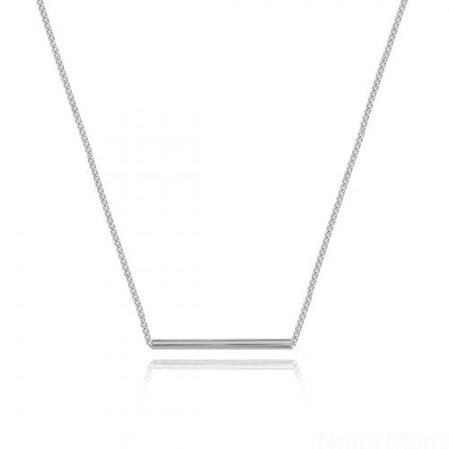 Kolekcja Zima 2015 - Tube - Silver #nanamarie #nanamarie_com #naszyjnik #necklace #winter #fashion #collection #jewelry #jewellery #accessories #2015 #bijou #inspiration #tube