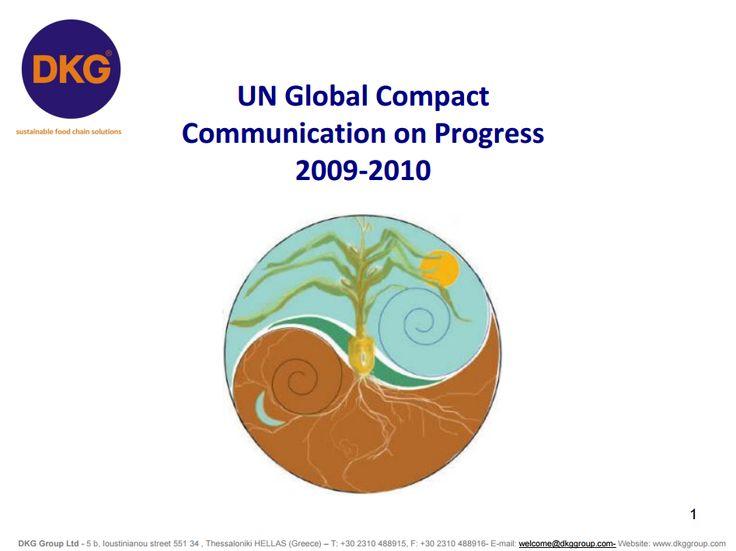 UNGC Report 2010 (pdf) - DKG Group