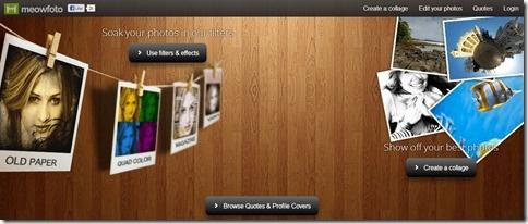 MeowFoto: aplicar filtros tipo Instagram y crear collage con fotos de Facebook   De un plumazo