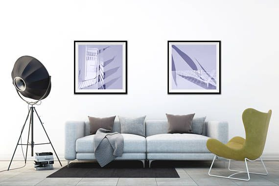 Staircase Wall Decor Digital Prints Architectural