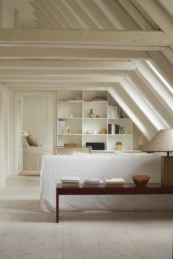 Brand director Caroline Feiffer's attic apartment in Copenhagen.
