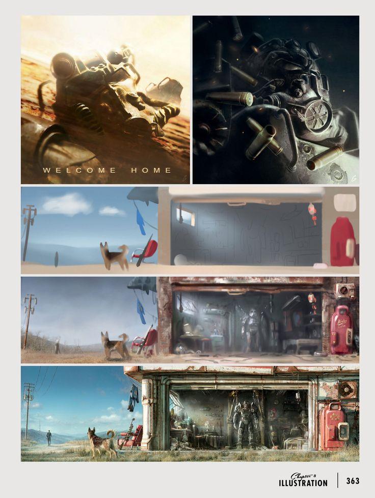 Scrap Yard Home Decorating Guide Fallout 4 Wallpaper