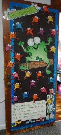 Second-Grade-Frog-Door-Display-2