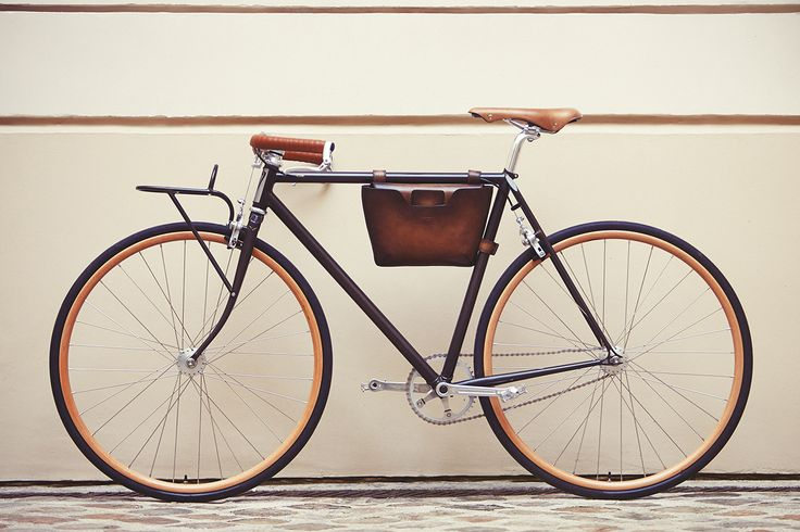 Berluti X Victoire Cycles Bicycle  The collab between Berluti and Victoire Cycles is now official. The result is a bicycle mixing authenticity and modernity.