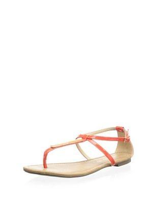 81% OFF Blu Karma Women's Yancisca Flat Sandal (Coral)