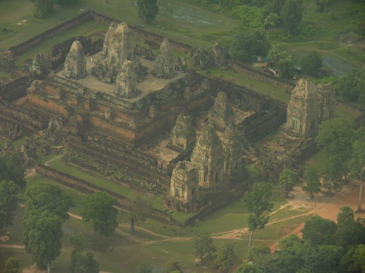 Another temple seen from the helicopter