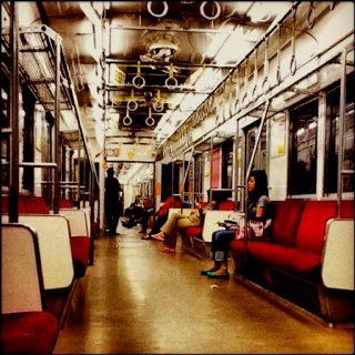 Commuter Line Bogor-TA #enjoythelonelyness #empty #train