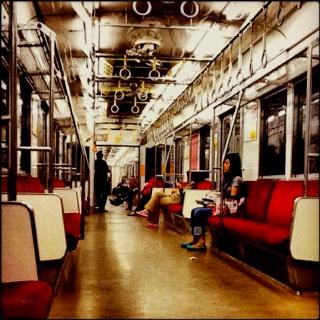 Commuter Line Bogor-TA #enjoythelonelyness #empty #train