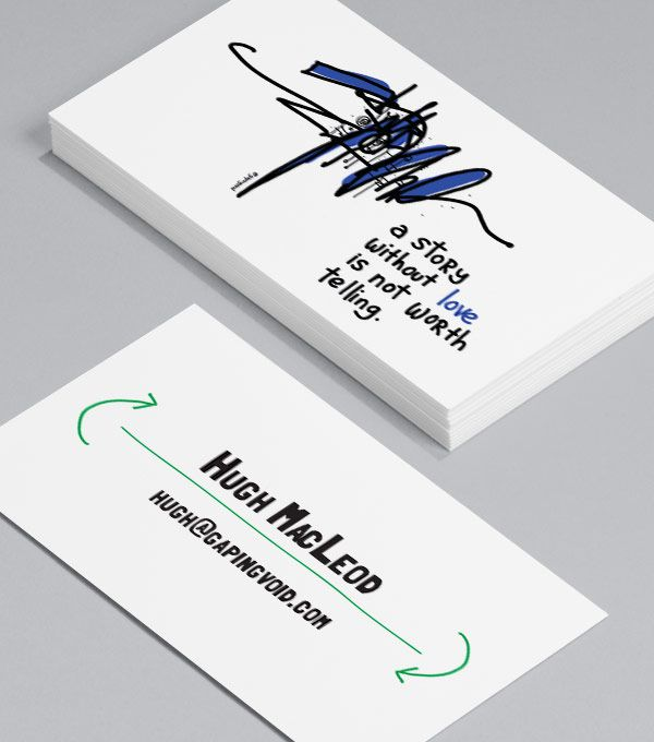 Decent Visiting Card Design