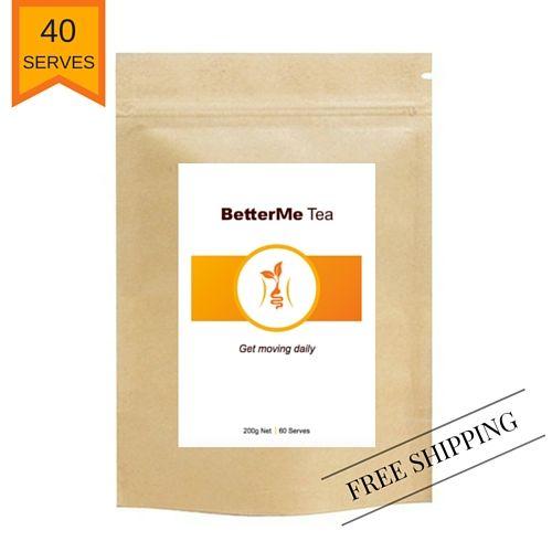 BetterMe tea for healthy bowel movements and common digestive complaints.