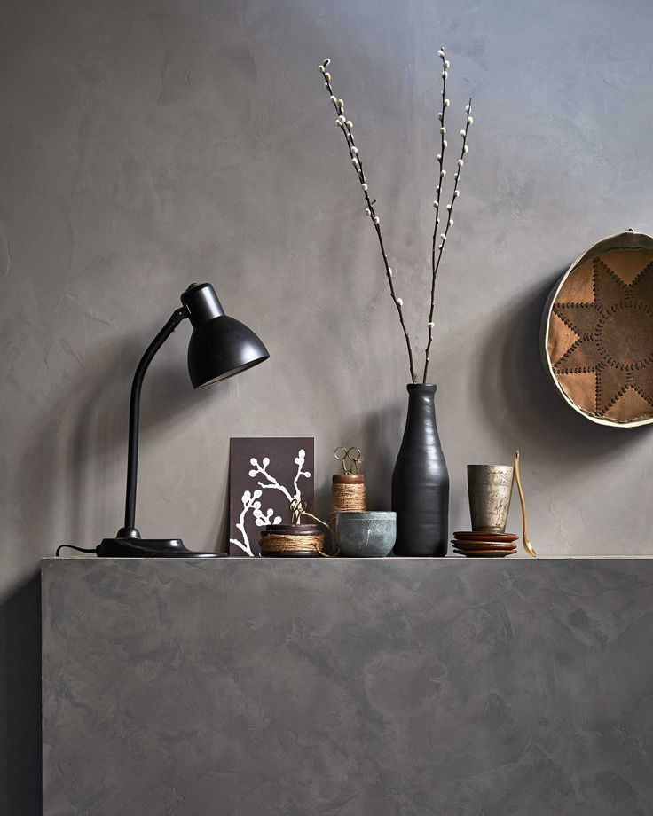 vtwonen basic beton | concrete with accessoires | vtwonen 01-2017 | Fotografie Jeroen van der Spek | Styling Cleo Scheulderman | Productie Inge Steketee