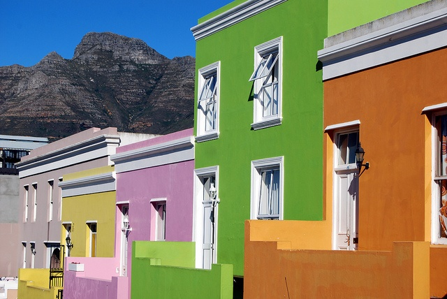 Colorful houses, Bo-Kaap by pelangio957, via Flickr