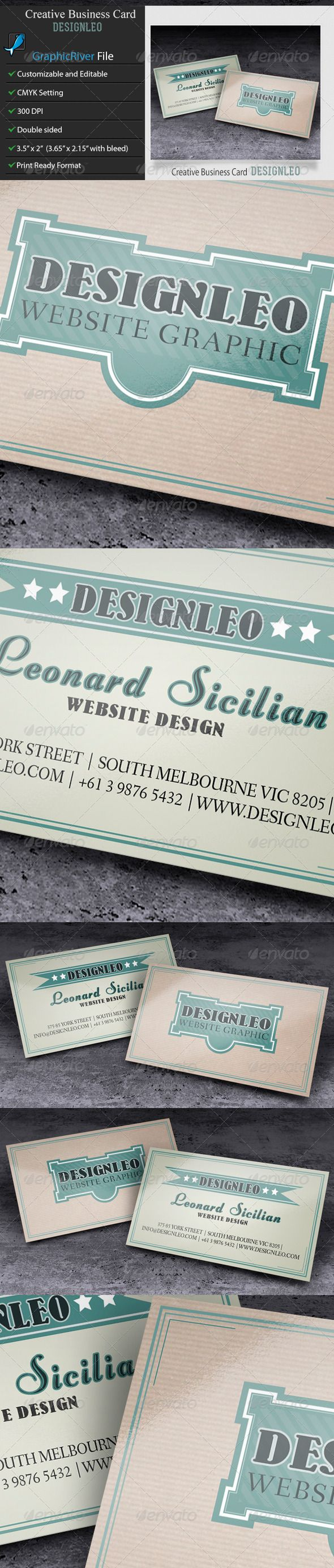 Business Card–DesignLeo