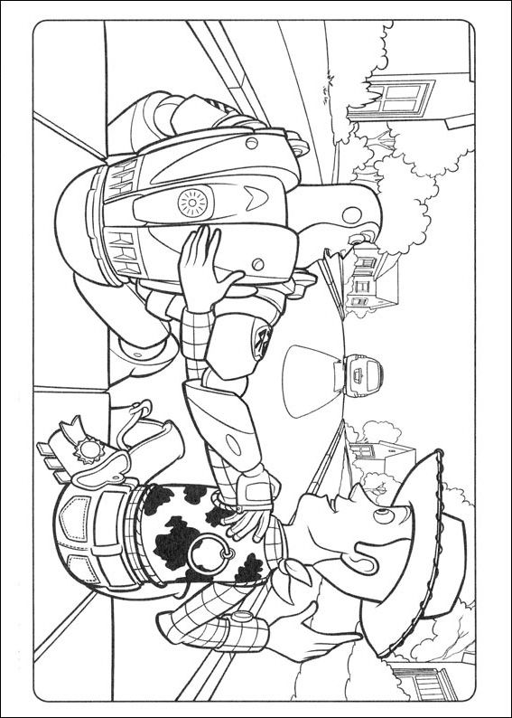 72 best images about Coloring Pages Toy Story on