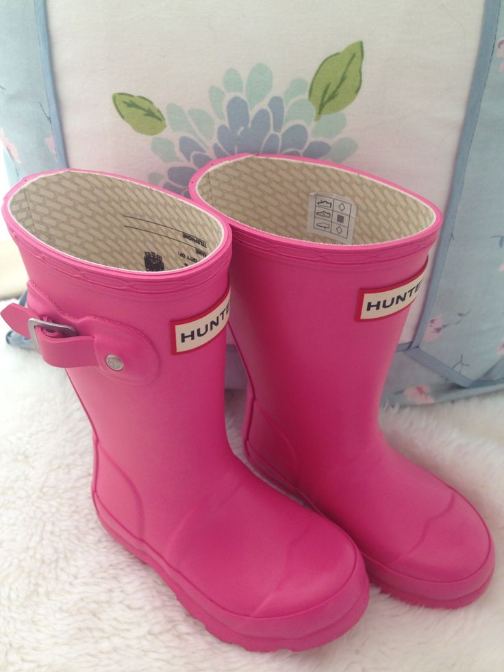 pink baby hunter boots - just bought them for my little girl