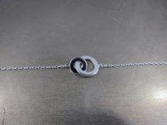 Bracelet Argent 2 Anneaux