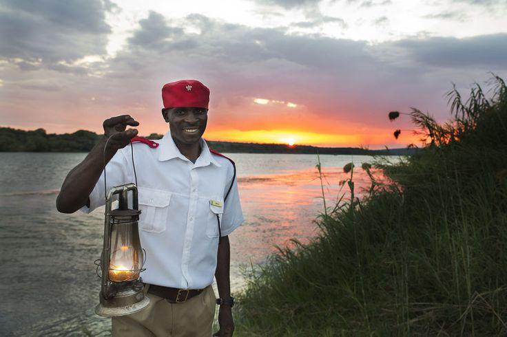 On the Zambezi River at Royal Chundu