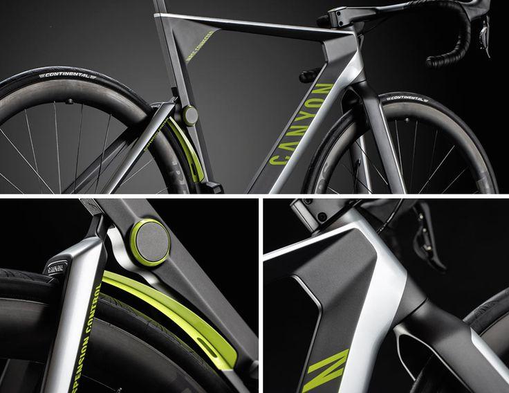 Canyon Future-bike detail shot