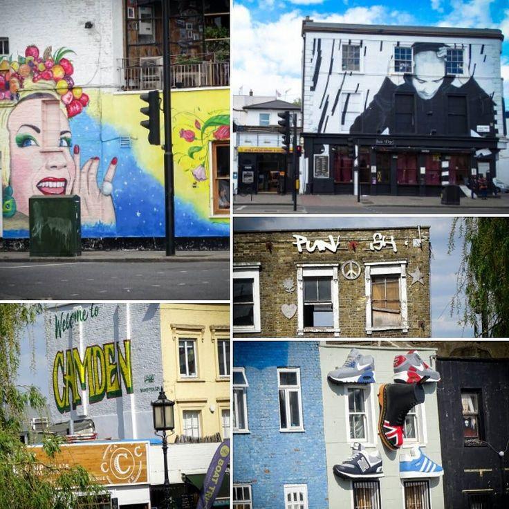 """Camden  одно из крутых мест Лондона особенно в выходные дни! И наверное рай если вы хипстер)) Camden  самый альтернативный район Лондона где перемешались готы гранджеры и хиппи. Camden High Street это куча салонов тату магазинов с одеждой и аксессуары любых модных направлений. Тут можно выцепить реально эксклюзивные дизайнерские вещи от местных """"фешн"""". Если приехать утром то вполне можно пробродить до самого вечера. Питер до этого только пытается дорваться организуя некие """"арт-кластеры"""" но…"""