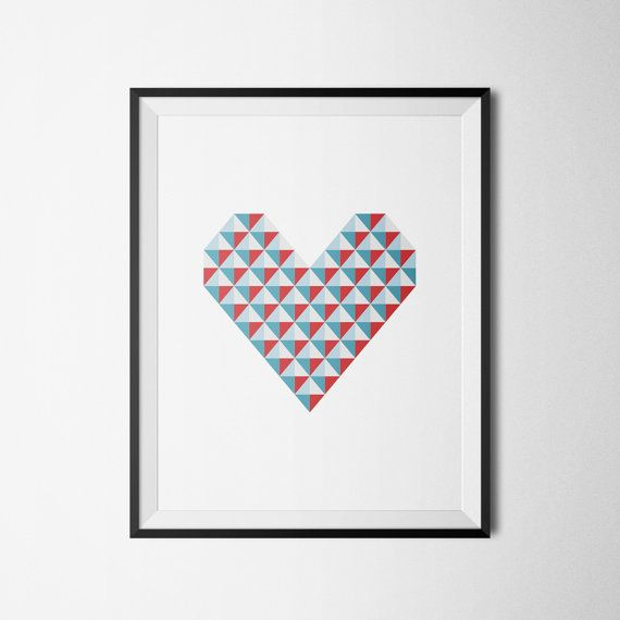 Scandinavian poster scandinavian print by HomeDecorDrawing on Etsy