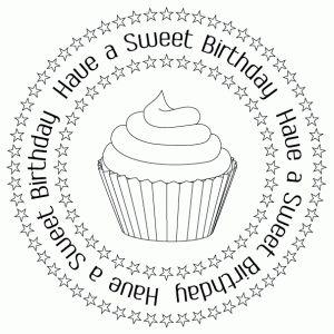 sweet birthday digital stamp and printables birthday