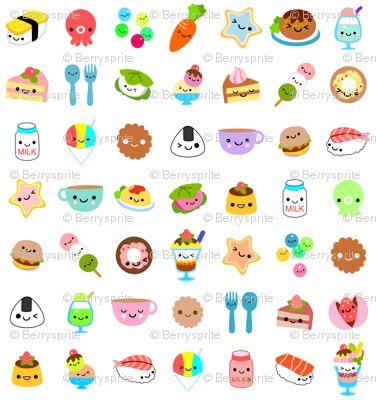 'Yummy Foods' by Berrysprite.