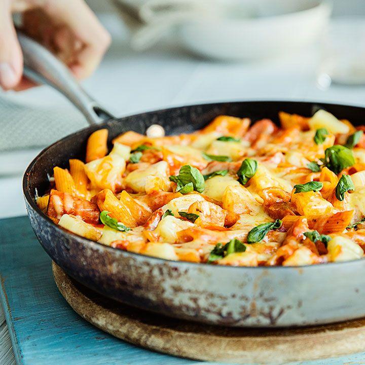 One pot Hawaii-pasta med skinke og ananas | EXTRA -