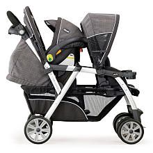 "Chicco Cortina Together Double Stroller - Cubes - Chicco - Babies ""R"" Us"