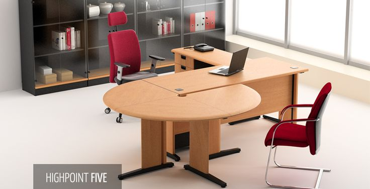 Highpoint Five | HighPoint Office The perfect desking system for active offices with demanding working hours. Designed and processed with excellence, High-Point Five ensures quality and comfort for extra productivity.
