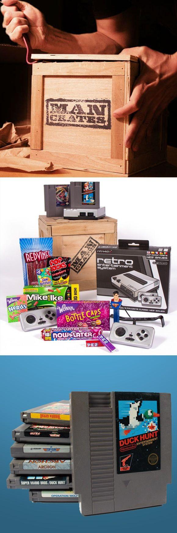 90's nostalgia gift for the gamer geek. #mancrates