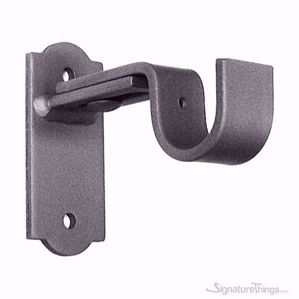 Xl Inside Mount Blinds Curtain Rod Bracket Attachment W Non Slip