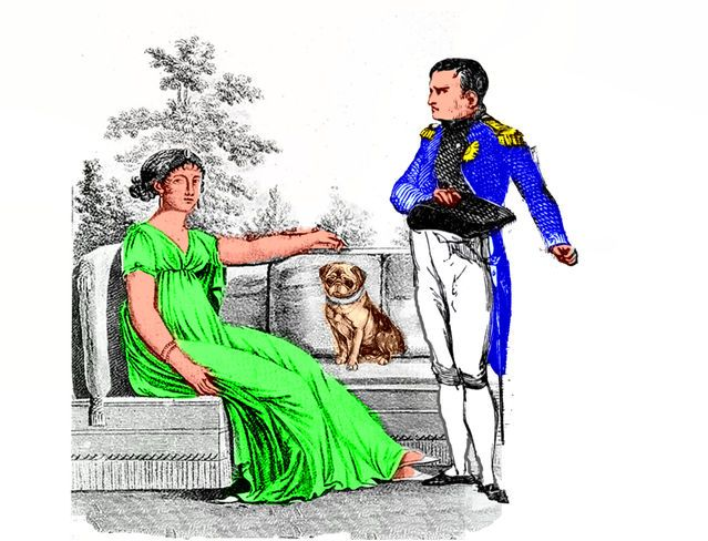The Dogs of Napoleon Bonaparte :   Source: SC Psychological Enterprises Ltd  I had just finished giving a talk about well known politicians and their dogs. This included a description of a broad spectrum of different relationships between the dogs and their well known owners which ranged from real emotional companionship to the callous use of dogs to manipulate the politician's image and popularity with the public. During the question period that followed one member of the audience asked…
