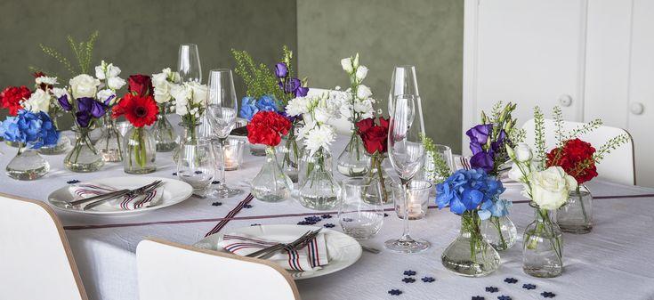 Pynt et vakkert festbord til 17. mai | Inspirasjon fra Mester Grønn